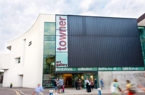 Towner Art Gallery, Eastbourne, exterior. Photo: Avant Commercial