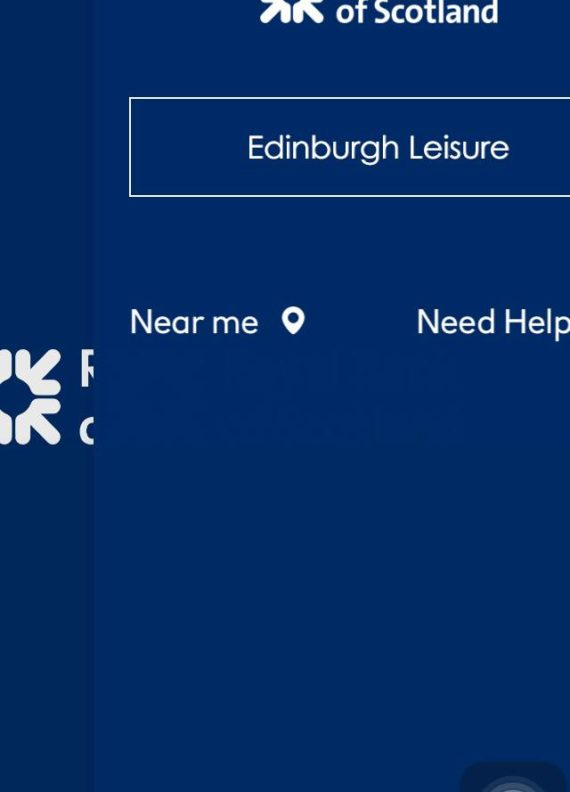 Near me Need Help | Edinburgh Leisure. Exhibition poster image.