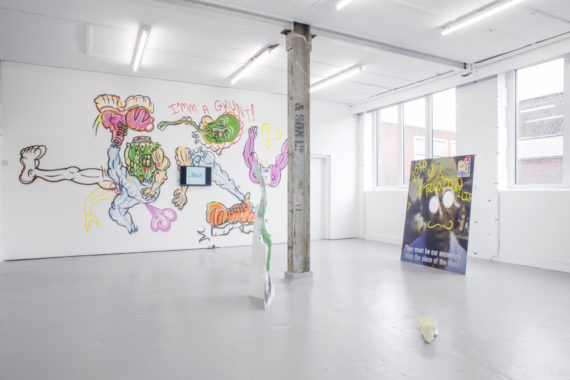 Hardeep Pandhal, 'Plebian Archive', exhibition view, David Dale Gallery, Glasgow, September 2015. Photo: Max Slaven; Courtesy: the artist