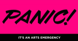 Panic! It's an Arts Emergency graphic, from the paper Panic! Social Class, Taste and Inequalities in the Creative Industries