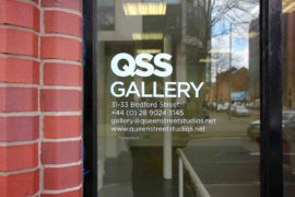 QSS Gallery, Belfast. Photo: Damian Magee