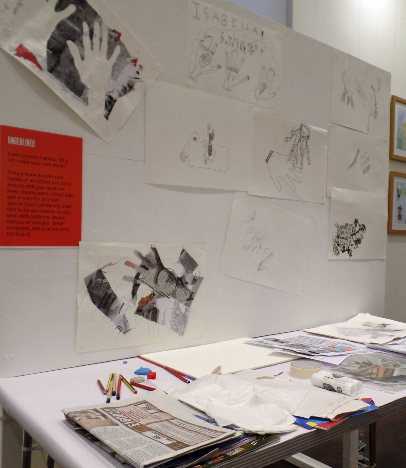 underlined project exhibition