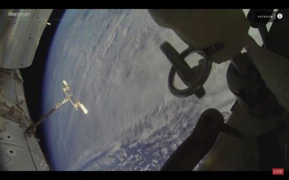 view of earth from iss