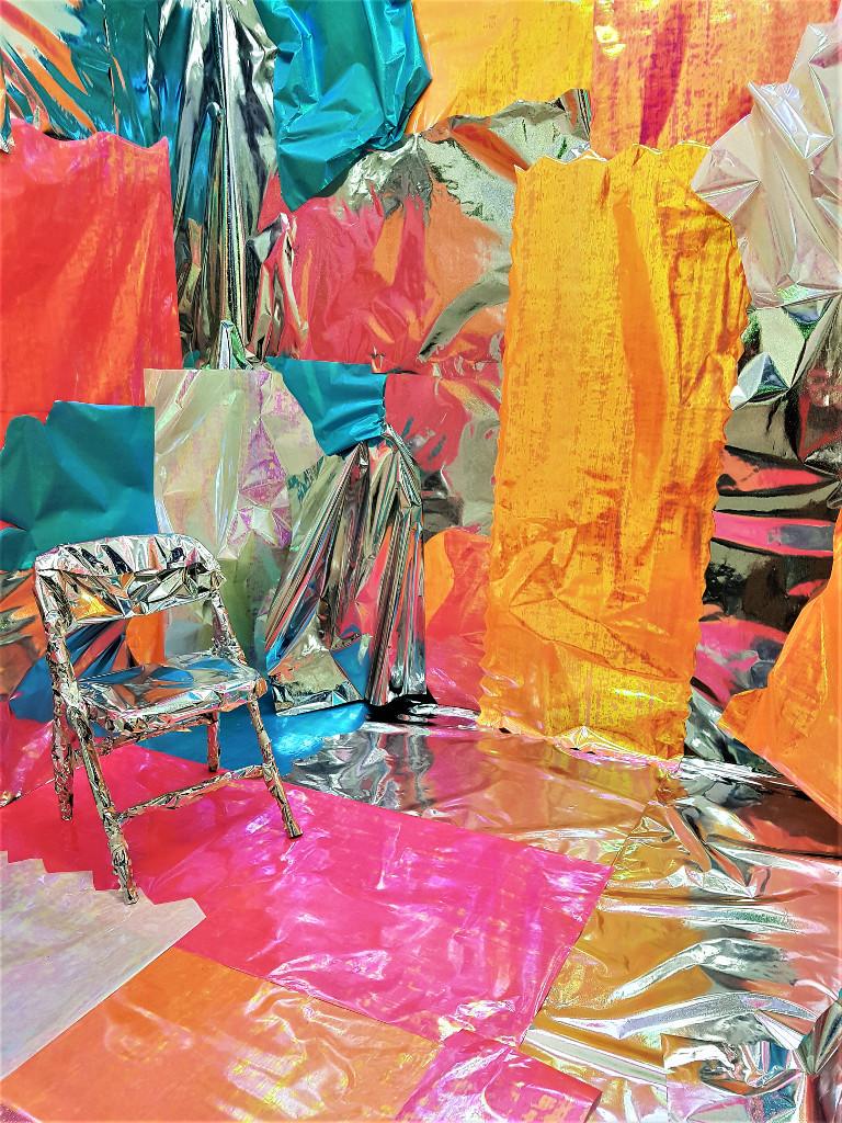 Michaela Hall, Wrap (installation shot), 2018.