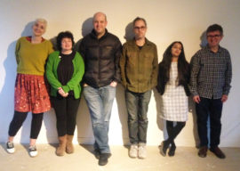 Andrew Bracey; Geoff Diego Litherland; Jessica Harby; Kajal Nisha Patel; Tim Shore and Tracey Kershaw