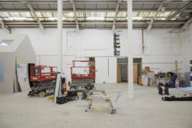 Refit of Eastside Projects, Eight Fixed Position. Photo: Stuart Whipps