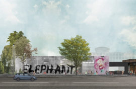 Elephant West art space. Image: © Liddicoat & Goldhill