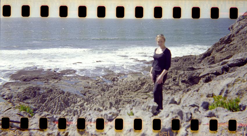 Steve Perfect & Jennifer Partridge 'Jennifer as a mermaid, Gower, Wales'