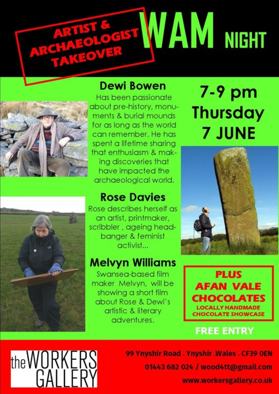 Poster for WAM Night June