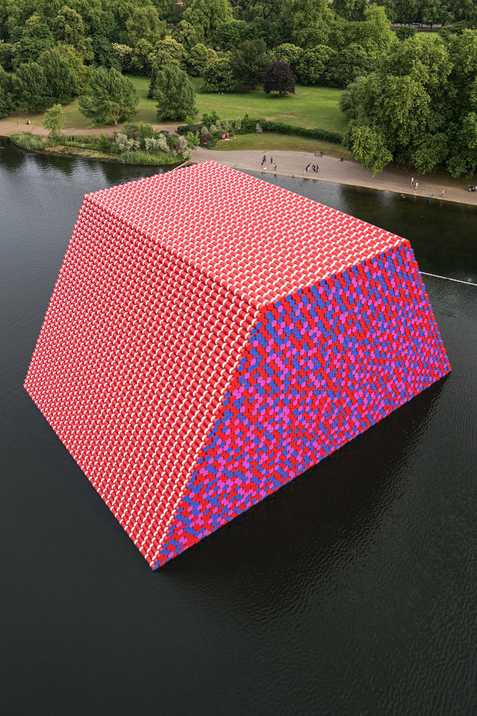 First Major Outdoor Public Artwork By Christo In The Uk Opens In Hyde Park Fundraising Regulator Back Bow Arts Trust Over Charitable Donations Dispute A N The Artists Information Company