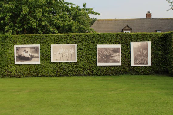 Gertrude Jekyll photograph installation. Courtesy: diep-haven 2018