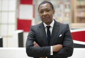 Okwui Enwezor. Photo: Andreas Gebert, 2011