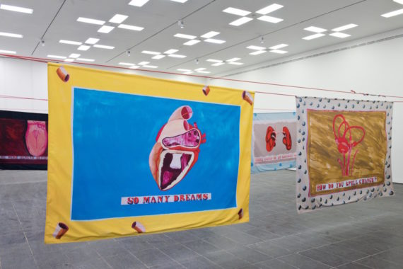 Lubaina Himid, Our Kisses are Petals, installation view, Baltic, Gateshead. Courtesy: Baltic