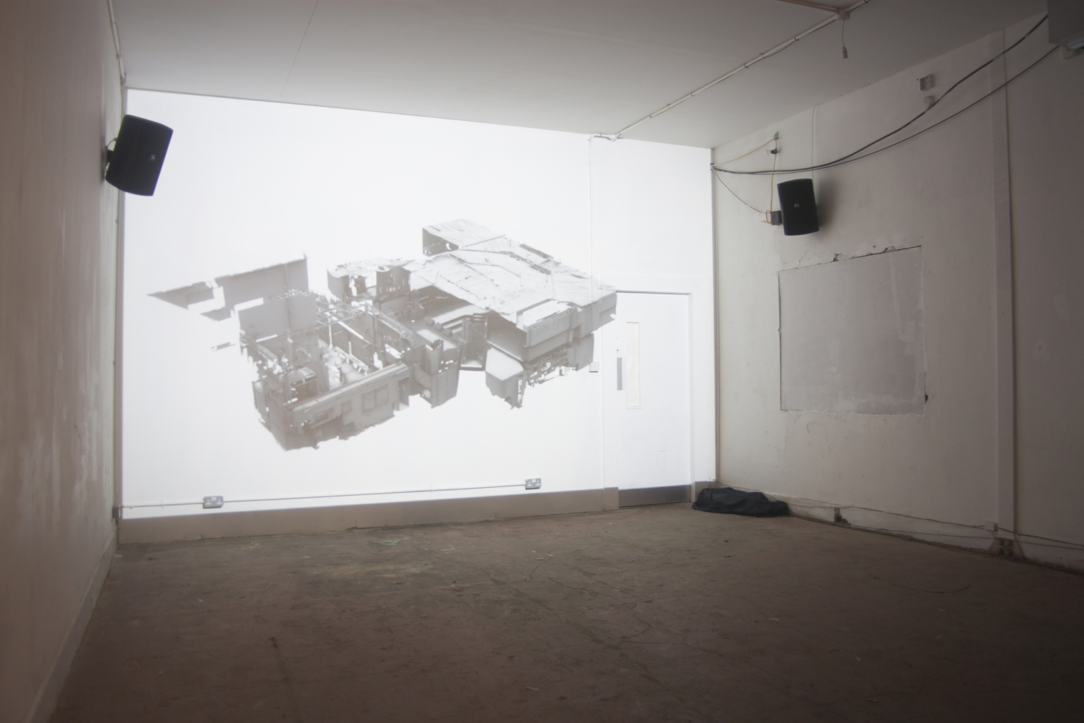 Output Gallery, Liverpool. Installation view of debut exhibition at the gallery by Danielle Waine, May 2018. Courtesy: Output