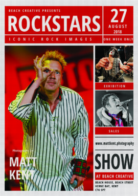 Matt Kent Rockstars exhibition 2018