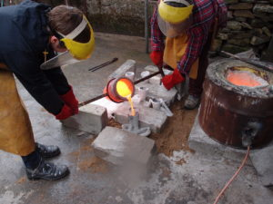 New British Art, bronze casting workshop. Courtesy: New British Art
