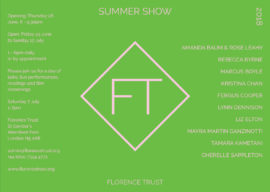 Florence Trust Summer Show