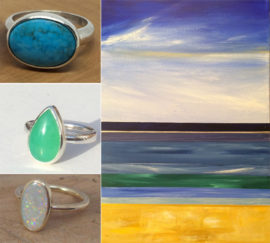 Rings and paintings