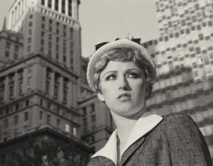 Cindy Sherman, Untitled Film Still #21, 1978, gelatin silver print, 8 x 10 inches, 20.3 x 25.4 cm. Image: the artist and Metro Pictures, New York