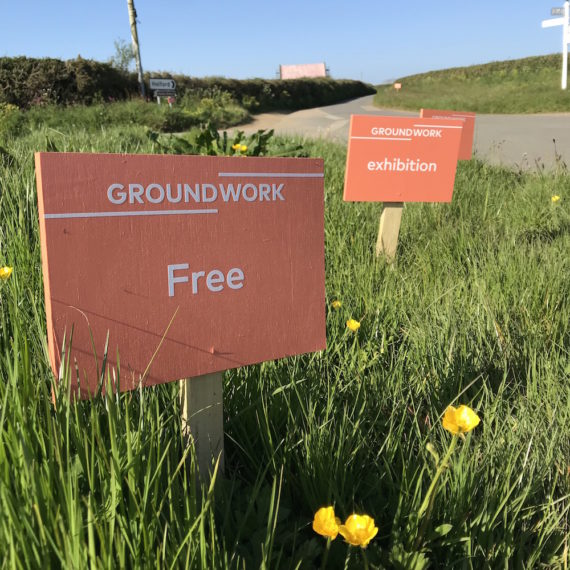 Groundwork exhibitions take place in special locations across West Cornwall, May - September 2018. Image: Steve Tanner © CAST (Cornubian Arts & Science Trust)