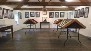 Installation view of A Sentimental Journey exhibition at Shandy Hall. Photo: The Laurence Sterne Trust