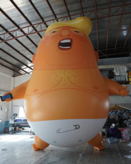 Trump Baby. Photo: Trump Baby UK