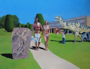 Paul Collinson, Adam & Eve, oil on canvas, 97cm x 120cm. Courtesy: the artist