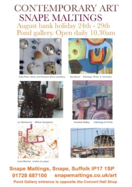 Joan Murray's new works on Paper can be seen at this exhibition.
