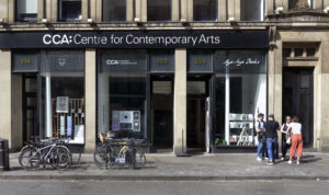 CCA, Glasgow, Sauchiehall Street entrance. Photo: Alan Dimmick