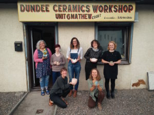 Dundee Craft Workshop committee. Courtesy: Tin Roof