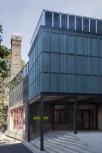 Goldsmiths CCA, exterior. Photo: Assemble