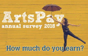 ArtsPay survey 2018, by Arts Professional