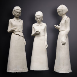 Gabriela Schutz, Connected. Clay & plaster