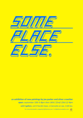 someplace else poster with logo2