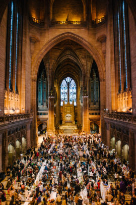 Open Culture Winter Arts Market Liverpool Cathedral