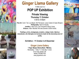 Art exhibition invite
