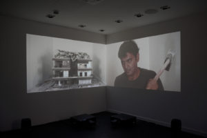 Hrair Sarkissian, Homesick, installation view, 23 Dukes Lane, Brighton Photo Biennial 2018. Photo: Nigel Green