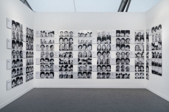 Sonia Boyce, The Audition 1997, printed 2018, Black & white photographs mounted on aluminium, Dimensions variable. Acquired for the Tate collection thanks to the 2018 Frieze Tate Fund supported by Endeavor