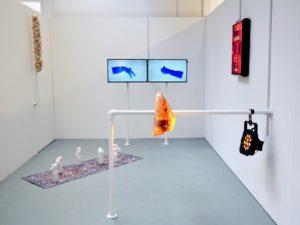 Josephine Rock, you i i i, installation view at UCA Farnham, 2018