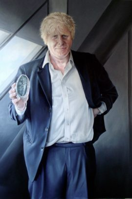 Helen Masacz, Boris Johnson, 2009