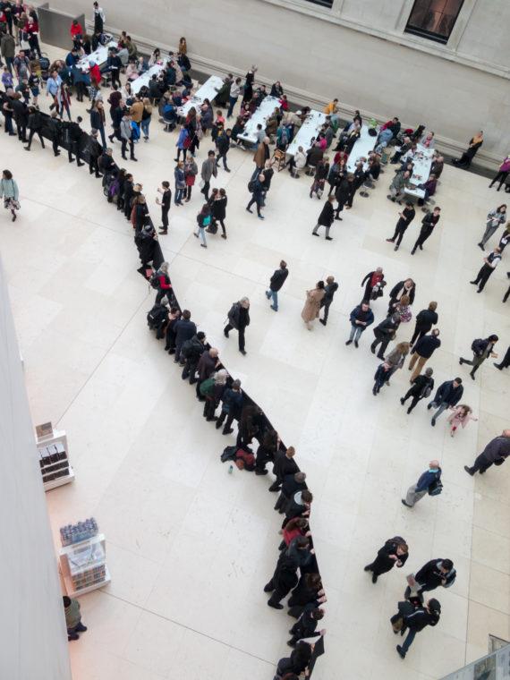 Demonstrators stage protest against British Museum BP sponsorship