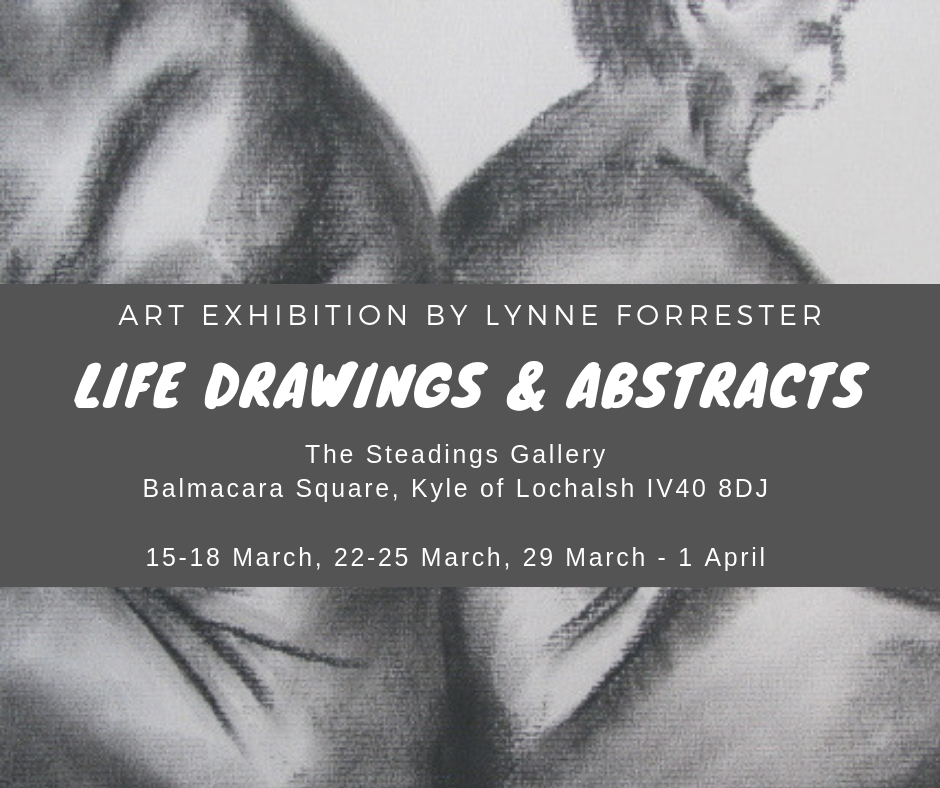 Art by Lynne Forrester: Art Exhibition - Life Drawings & Abstracts