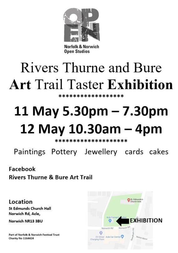 Acle art trail exhibition