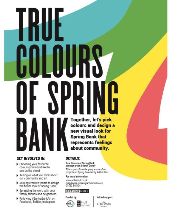 Artlink Hull - True Colours of Spring Bank