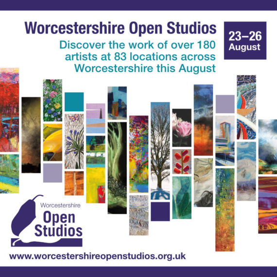 Worcestershire Open Studios 2019 promotional image