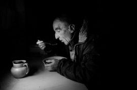 David Eating J A Mortam