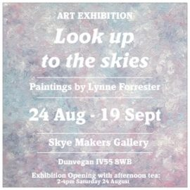 Lynne Forrester, Artist: Art Exhibition - Look up to the skies