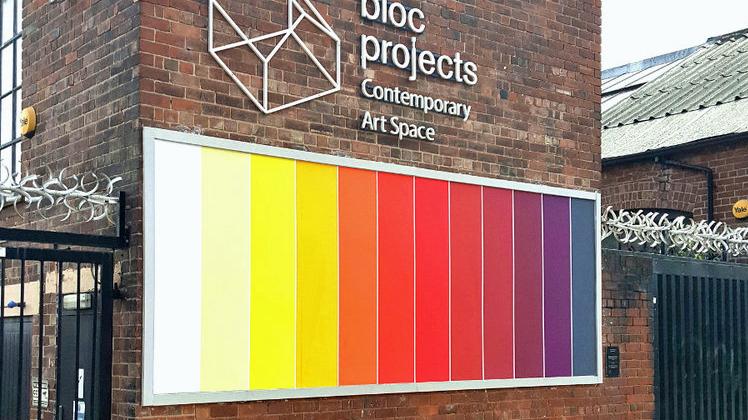 Eddy Dreadnought Billboard, 2019 @ Bloc Project, Sheffield