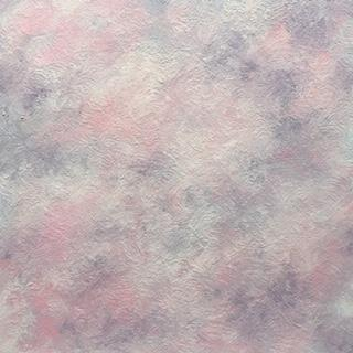 """Lynne Forrester, Artist: Plumes of Passion (cloudscape painting, oil on canvas, 12""""x12"""")"""