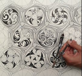 Celtic Pattern and Sacred Geometry courses at SAOG Studios